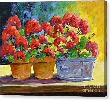 Passion In Red Canvas Print by Richard T Pranke