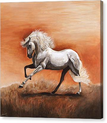 Passion Canvas Print by Paula Collewijn -  The Art of Horses