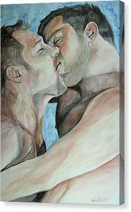 Passion Canvas Print by Vincent Martin
