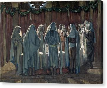 Passover Canvas Print by Tissot