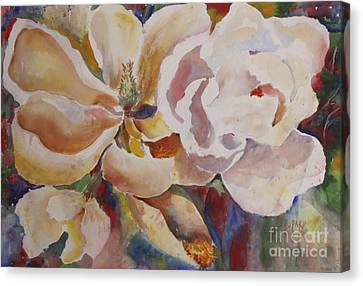 Past Full Bloom Canvas Print by Linda Rupard