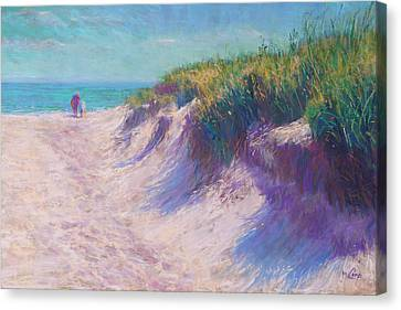 Past The Dunes Canvas Print by Michael Camp