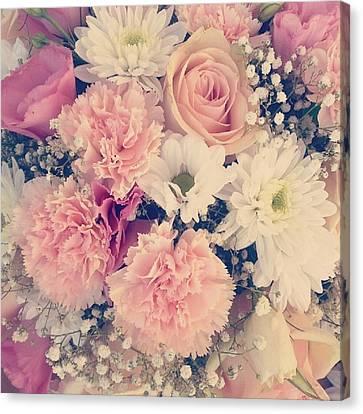 Spring Wedding Flowers Canvas Print