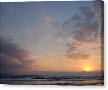 Pastel Breeze Canvas Print