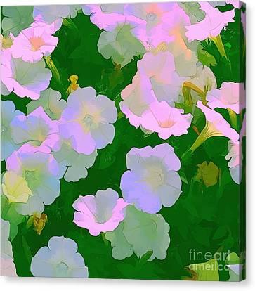 Pastel Flowers Canvas Print by Tom Prendergast