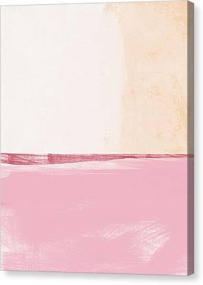 Colorful Canvas Print - Pastel Landscape by Linda Woods