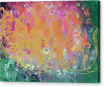Pastel Painting Canvas Print by Don  Wright