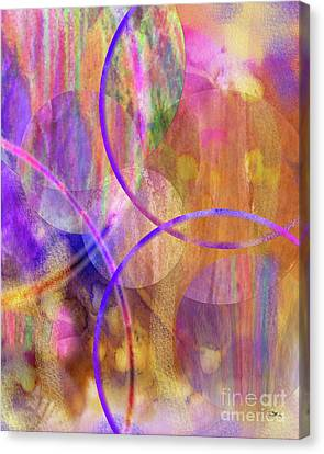 Pastel Planets Canvas Print by John Beck