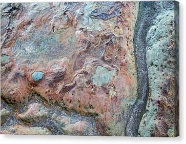 Pastel Rock Patterns Canvas Print