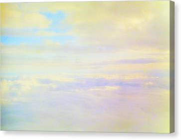 Pastel Sky Canvas Print by Deborah  Crew-Johnson