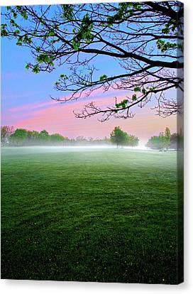 Pastel Sunrise Canvas Print by Phil Koch