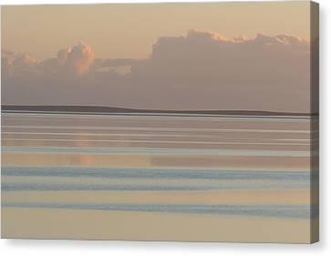 Pastel Sunset Sea Original Canvas Print
