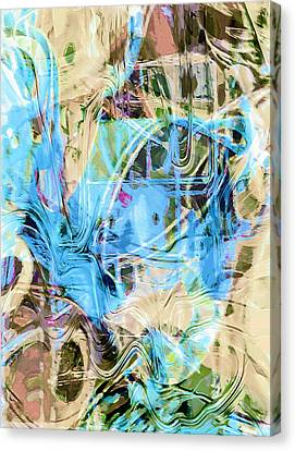 Pastel Tones Abstract Canvas Print by Tom Gowanlock