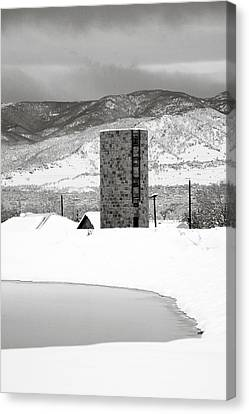 Pastoral Winter Canvas Print by Marilyn Hunt