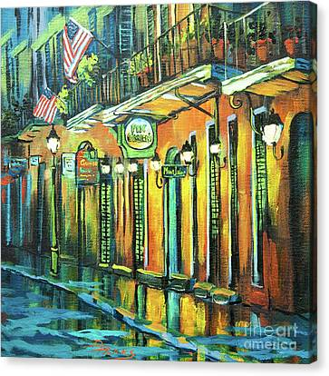 Pat O Briens Canvas Print by Dianne Parks