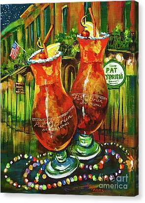 Pat O' Brien's Hurricanes Canvas Print by Dianne Parks