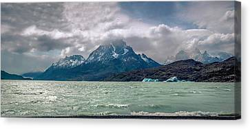 Patagonia Lake Canvas Print by Andrew Matwijec