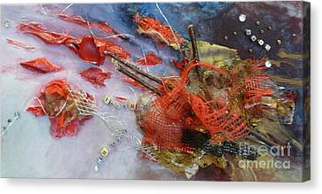 Canvas Print featuring the painting Patches by Terri Thompson