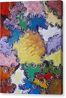 ''patchwork'' Canvas Print by Asia Dzhibirova