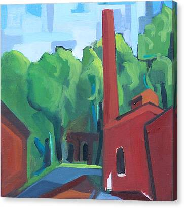 Paterson Mill Canvas Print