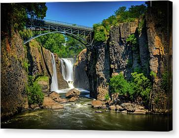 Paterson's Great Falls I Canvas Print by David Hahn