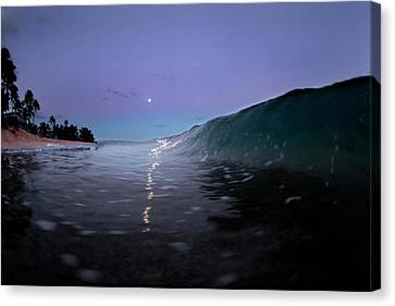 Path Of Pearls. Canvas Print
