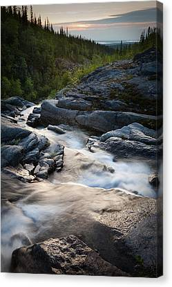 Path Of Water Canvas Print