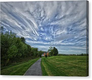 Path Canvas Print by Robert Geary