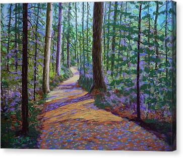 Path To Hubbards Farm Market Canvas Print