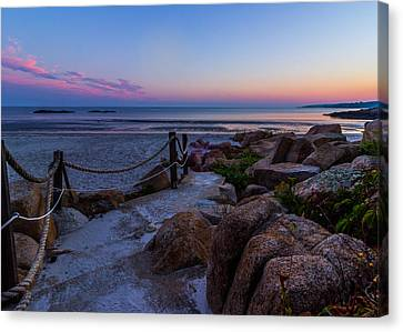 Path To The Beach Canvas Print by Tim Kirchoff