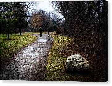 Pathway To Nowhere Canvas Print by Celso Bressan