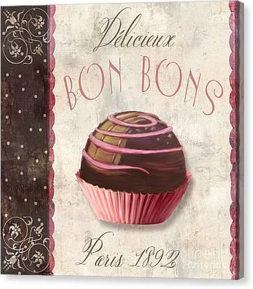 Patisserie Bon Bons Canvas Print