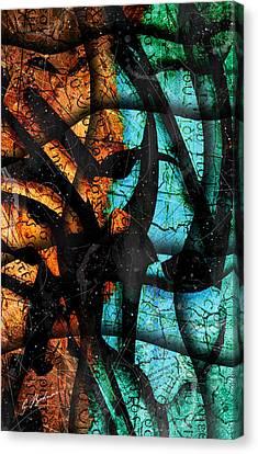 Patmos Canvas Print by Gary Bodnar