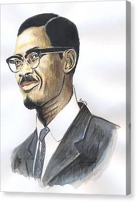 Patrice Emery Lumumba Canvas Print