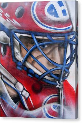 Patrick Roy ... Canvas Print by Juergen Weiss