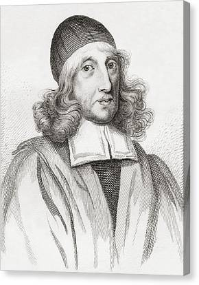 Patrick Scougal, 1607 Canvas Print by Vintage Design Pics
