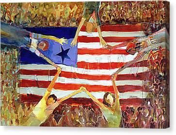 Patriot Act Canvas Print
