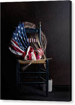 Grapevines Canvas Print - Patriotic Decor by Tom Mc Nemar