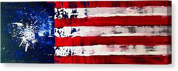 Patriot's Theme Canvas Print