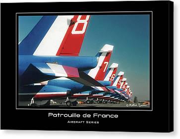 Patrouille De France Canvas Print by Mathias Rousseau