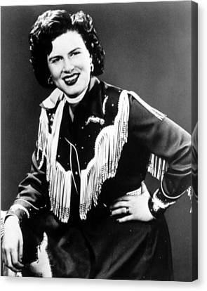1950s Portraits Canvas Print - Patsy Cline, C. 1956 by Everett