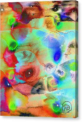 Pattern 242 _ Imagination Canvas Print
