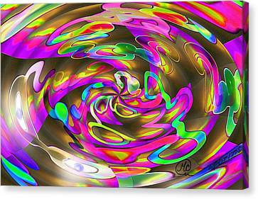 Pattern 269 _ Wired Canvas Print