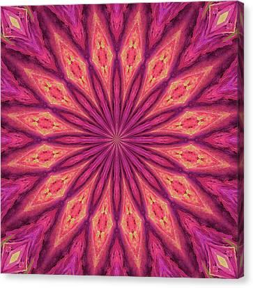 Canvas Print featuring the digital art Pattern I by Elizabeth Lock