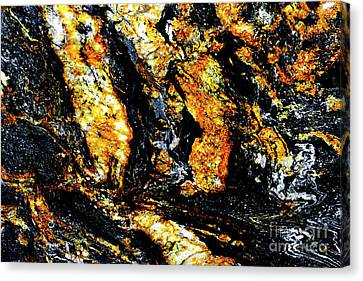 Canvas Print featuring the photograph Patterns In Stone - 185 by Paul W Faust - Impressions of Light