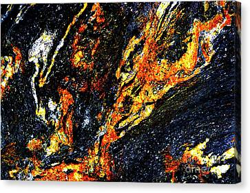 Canvas Print featuring the photograph Patterns In Stone - 187 by Paul W Faust - Impressions of Light