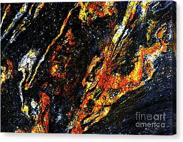 Canvas Print featuring the photograph Patterns In Stone - 188 by Paul W Faust - Impressions of Light