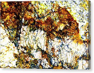 Canvas Print featuring the photograph Patterns In Stone - 210 by Paul W Faust - Impressions of Light