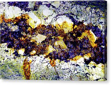 Canvas Print featuring the photograph Patterns In Stone - 212 by Paul W Faust - Impressions of Light