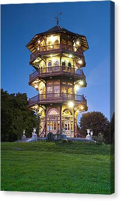 Maryland Canvas Print - Patterson Park Pagoda. Baltimore Maryland  by Matthew Saindon
